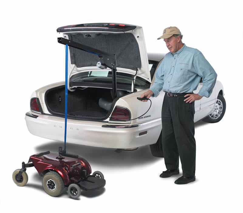 Wheelchair Lift For Car >> Ameriglide Mini Universal 200 Interior Lift For Mobility Scooters