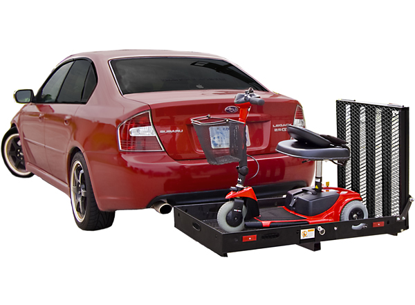 Manual Scooter Carrier for Car Hitch