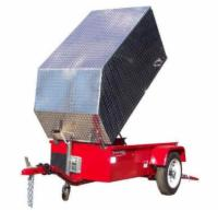 Aluminum Trailer Cover - Standard Size - Tall - Discontinued